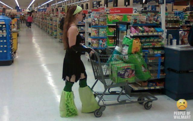 Najdziwniejsi klienci z WalMart #6 24