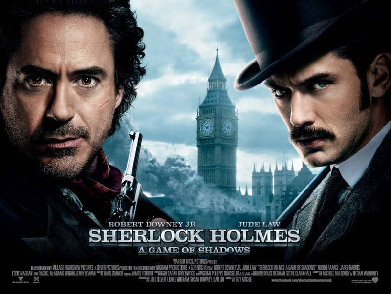 Sherlock Holmes A Game Of Shadows [2011] 1080p BD-Rip Dual Audio [Hindi-Eng]~Abhinav4u~ {HKRG}