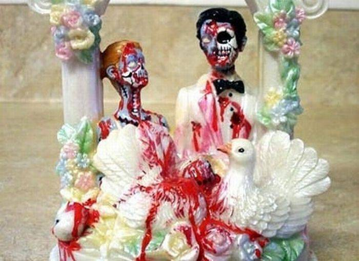 Najdziwniejsze torty weselne 5