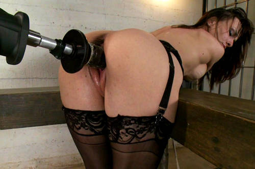 Cytherea - Queen of Squirt IN BONDAGE - Kink/ FuckingMachines (2012/ HD 720p)