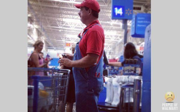 Najdziwniejsi klienci z WalMart #16 23