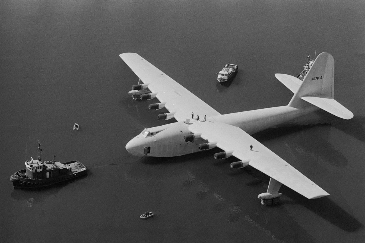 Największy hydroplan 8