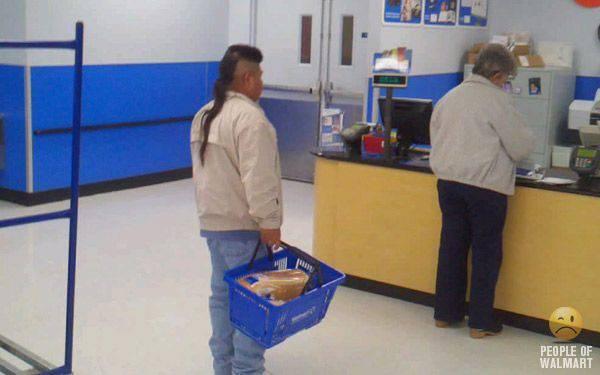 Najdziwniejsi klienci z WalMart #16 10