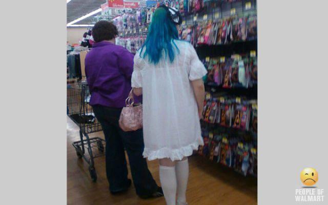 Najdziwniejsi klienci z WalMart #6 14