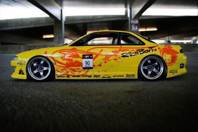 RC drifting czyli niesamowite samochody na sterowanie 5