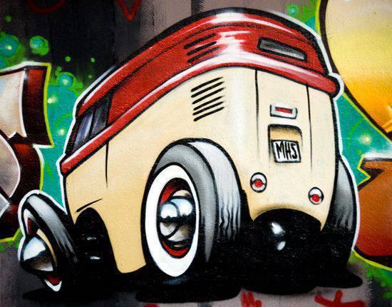 Graffiti - sztuka ulicy 11
