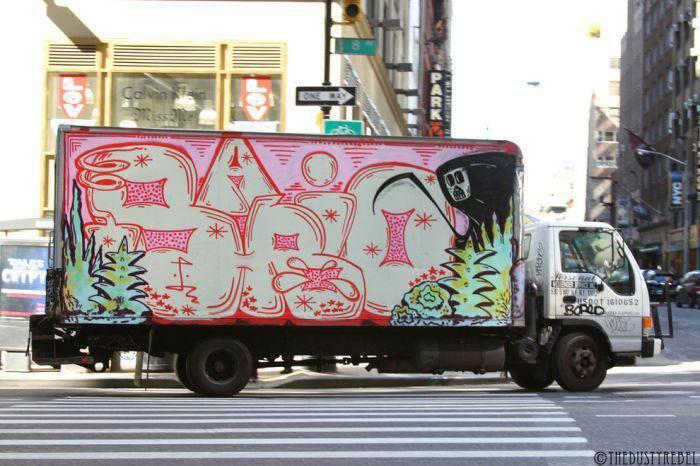Graffiti na samochodach 27