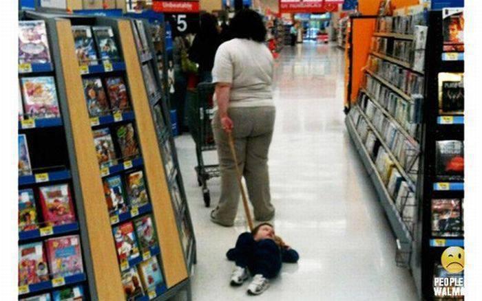 Najgorsi rodzice kupują w WalMart 8