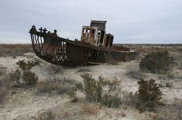 Wysychające Jezioro Aralskie 16