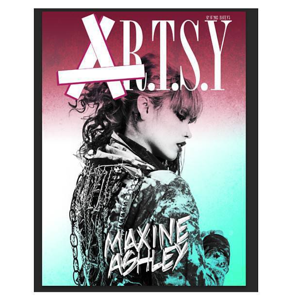 Maxine Ashley Covers Artsy Magazine | The Neptunes #1 fan site, all