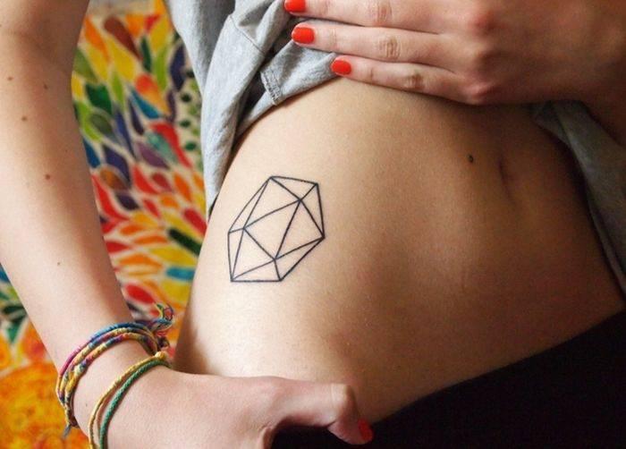 Geometryczne tatuaże 40