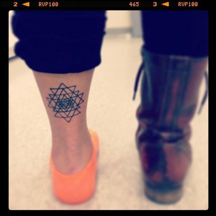 Geometryczne tatuaże 2