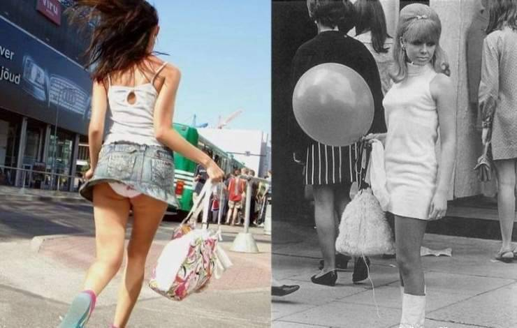 Dziewczyny w latach 70 i dziś 21