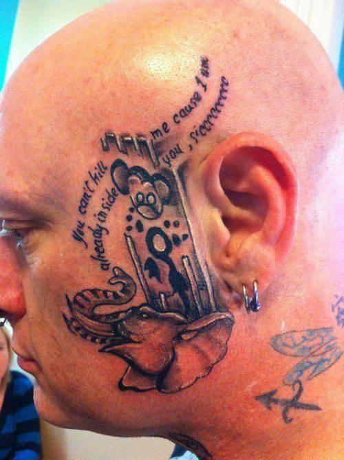 Nietypowe tatuaże #3 7