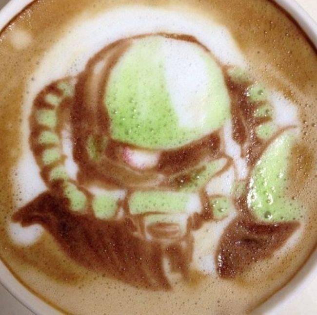 Latte art 21