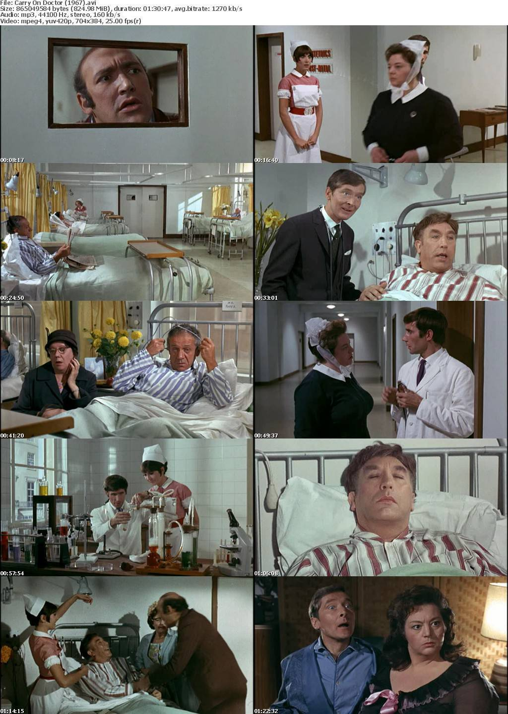 Carry on Doctor (1967) Free Movie Download