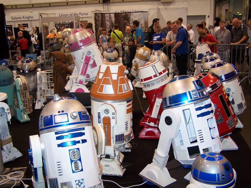 Droiden, Astromechs und ein rosa R2-D2