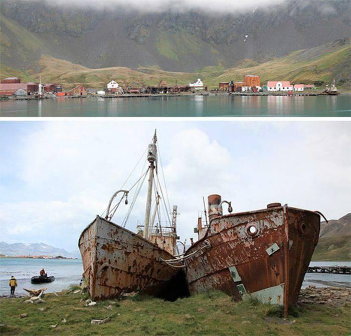 Opuszczone miejsca na Antarktydzie 8