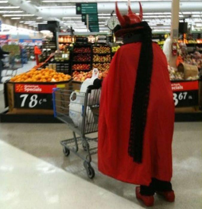 Najdziwniejsi klienci z WalMart #5 74