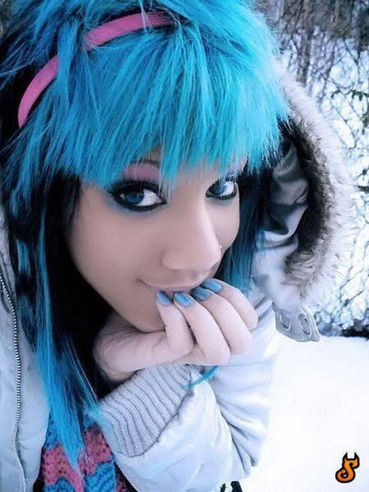 Dziewczyny w stylu EMO #4 29