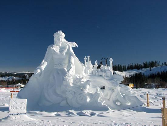 Rzeźby w śniegu 2
