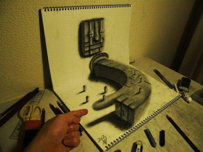 Rysunki 3D #3 11