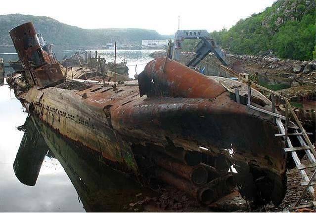 Cmentarzysko łodzi podwodnych 2