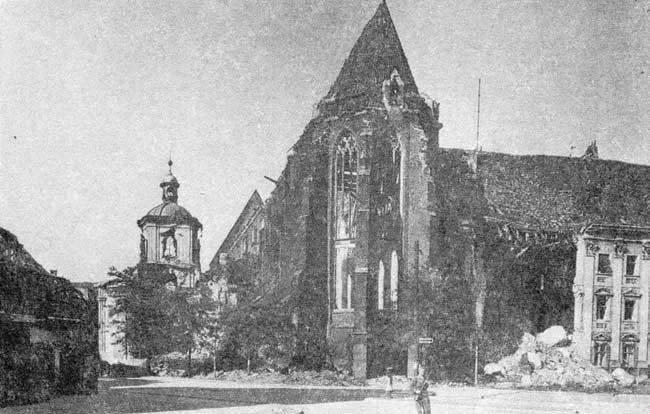 Wrocław  1945 Zniszczenia 51