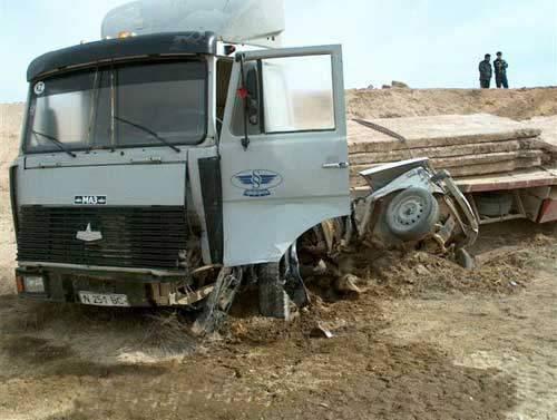 Wypadki ciężarówek 8