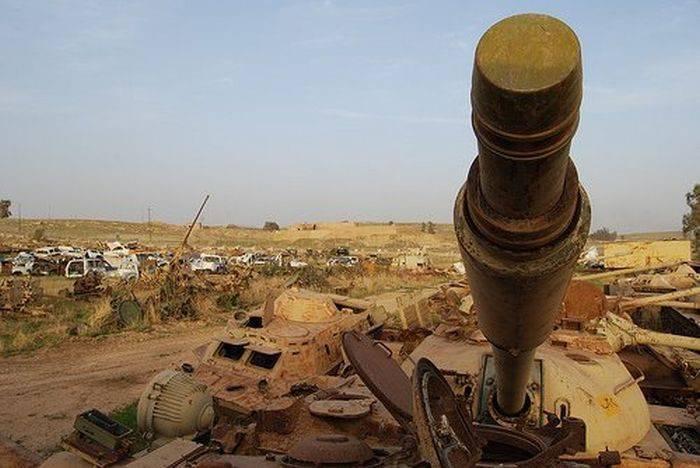 Cmentarzysko czołgów w Kuwejcie 19
