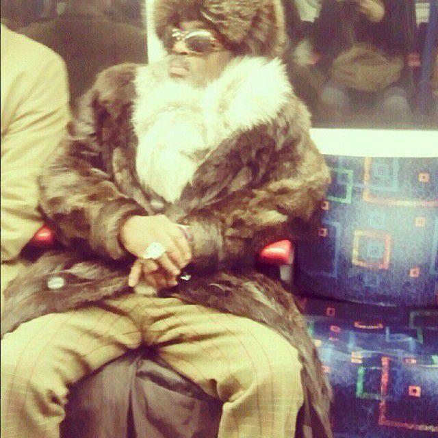 Najdziwniejsi pasażerowie metra 28