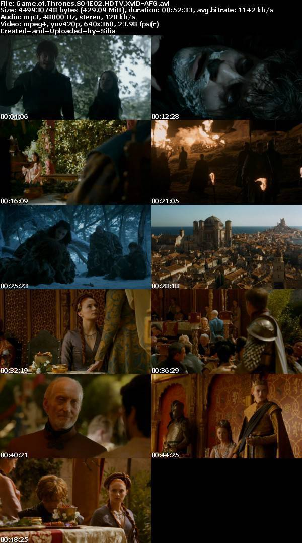 Game of thrones s4e2 free online