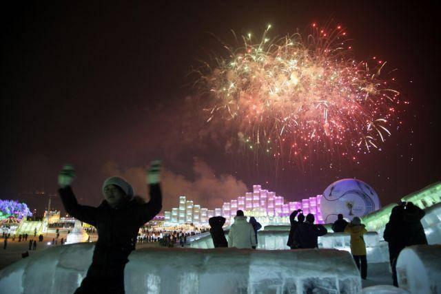 Festiwal rzeźby w śniegu i lodzie 9