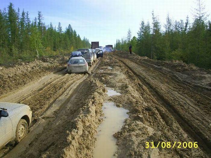 M56 Lena - najgorsza droga na świecie 58