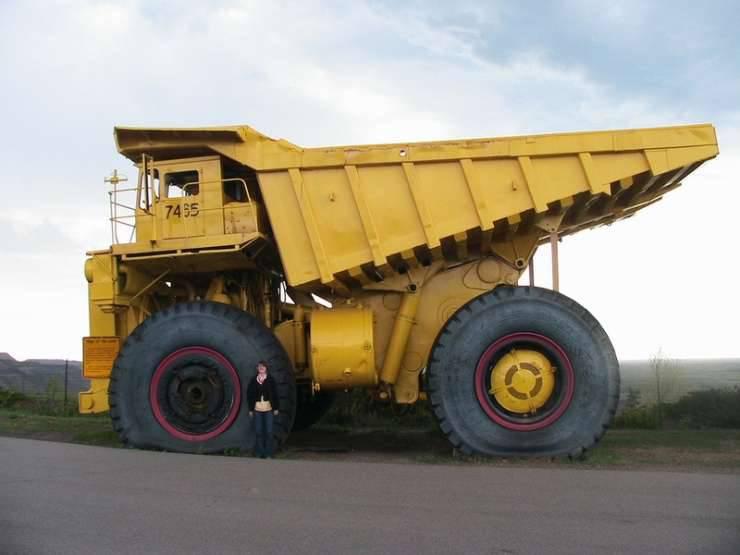 Największe ciężarówki świata 25