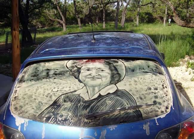 Dirty car art 9