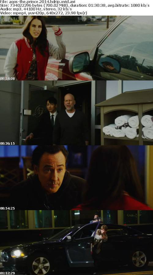 The Prince 2014 HDRip XviD-AQOS