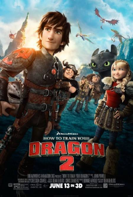 How To Train Your Dragon 2 2014 720p HDRip XVID MAJESTIC