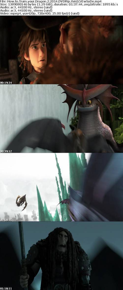 How to Train your Dragon 2 2014 DVDRip Xvid CrEwSaDe