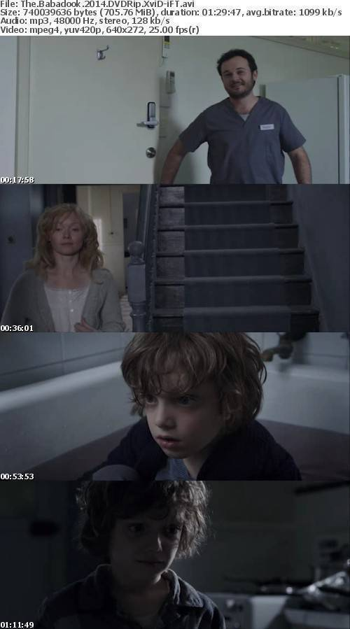 The Babadook 2014 DVDRip XviD-iFT