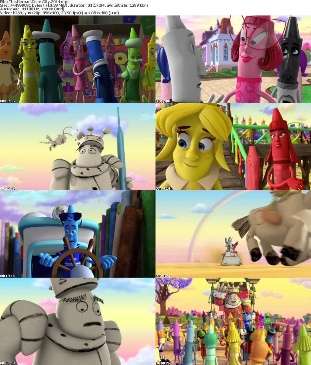 The Hero of Color City (2014) Screenshots