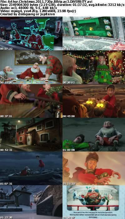 Arthur Christmas (2011) 720p BRRip AC3-DiVERSiTY