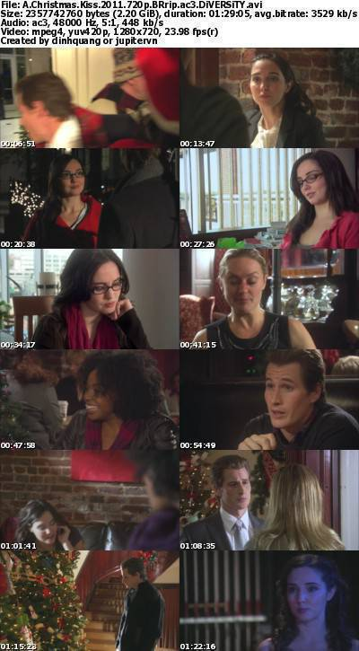 A Christmas Kiss (2011) 720p BRRip AC3-DiVERSiTY