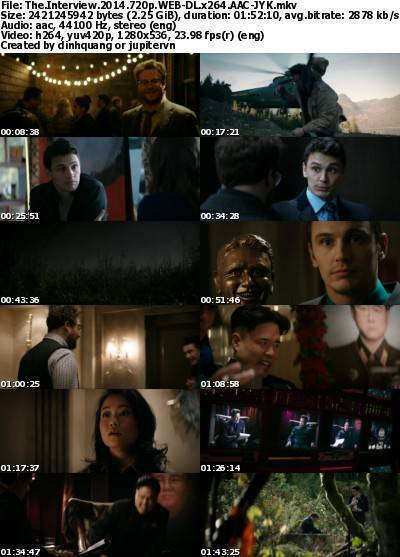 The Interview (2014) 720p WEB-DL x264 AAC-JYK