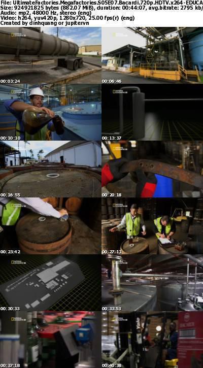 National Geographic - Megafactories S05E07 Bacardi (2012) 720p HDTV x264-EDUCATiON