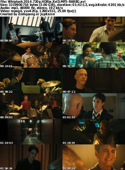 Whiplash (2014) 720p HDRip XviD MP3-RARBG