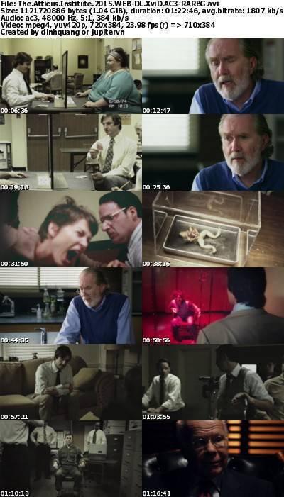 The Atticus Institute (2015) WEB-DL XviD AC3-RARBG
