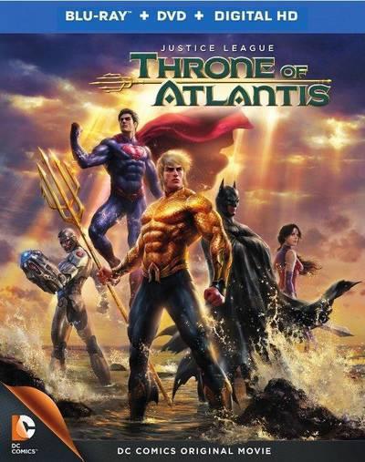 Justice League  Throne of Atlantis (2015) BRRip XviD AC3-EVO