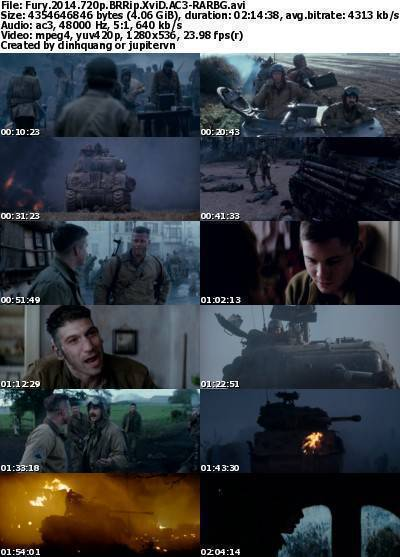 Fury (2014) 720p BRRip XviD AC3-RARBG
