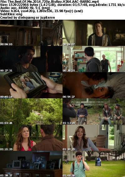 The Best of Me (2014) 720p BluRay H264 AAC-RARBG